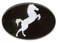 Trailer Hitch Cover - Horse Silhouette 3 1/2 x 5