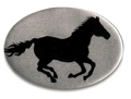 Trailer Hitch Cover - Running Horse Silhouette