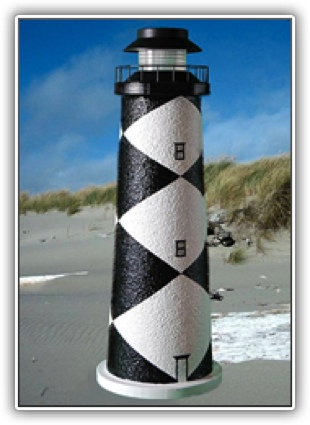 Cape Lookout Lighthouse Tier Light