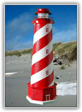 White Shoal Lighthouse Tier Light
