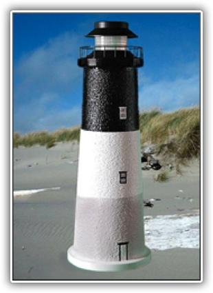 Oak Island Lighthouse Tier Light