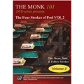 The Monk 101 DVD The Four Strokes of Pool Volume 2