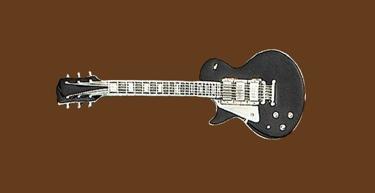 Guitar Belt Buckle 4-1/2 x 1-1/2