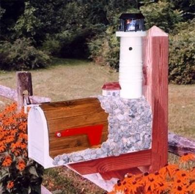 Boston Harbor Lighthouse Mailboxes