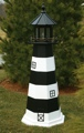 Painted Wooden Lighthouses
