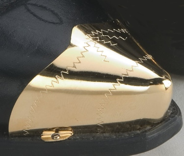 Pointed Brass Toe Tips