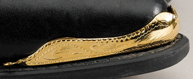 Boot Tips J Toe / Brass