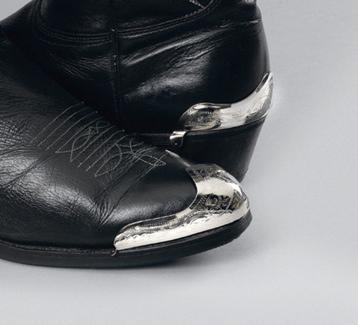 Silver Toe Tips