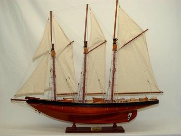 Atlantic Yacht OMH Handcrafted Model