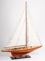 Shamrock Yacht L OMH Handcrafted Model