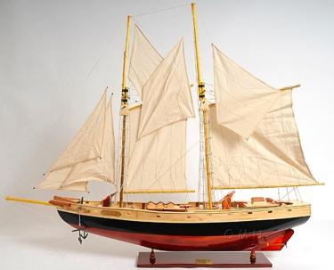 Bluenose II painted Medium OMH Handcrafted Model