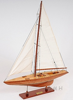 Columbia Yacht L OMH Handcrafted Model