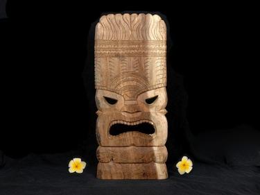 Tiki Mask Ocean Tiki God 18 Island Decor